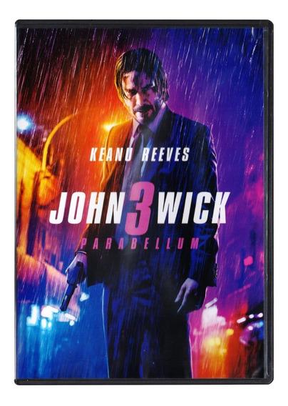 John Wick 3 Parabellum Keanu Reeves Pelicula Dvd