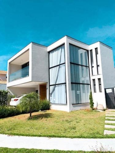 Oportunidade Lindo Sobrado Com 4 Dormitórios À Venda, 220 M² Por R$ 1.250.000 - Condomínio Ibiti Royal Park - Sorocaba/sp - So0151 - 67640231