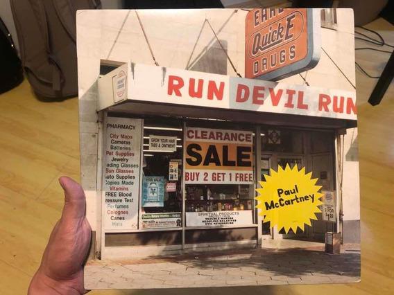Lp Paul Mccartney - Run Devil Run (importado Ultra Raro)