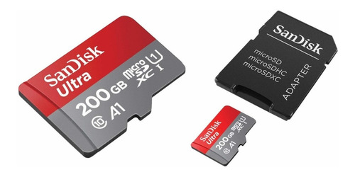 Memoria Micro Sd Sandisk 200gb Ultra Tablet 100mbps Clase 10