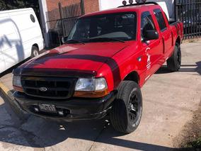 Ford Ranger 2.5 Xl I Dc 4x2 2000 Rojo