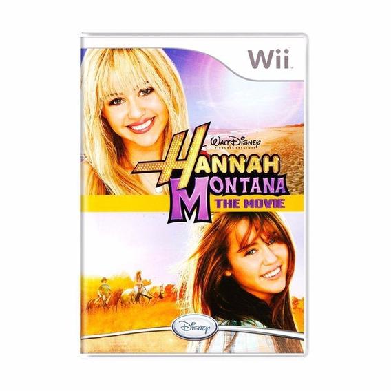 Jogo Lacrado Midia Fisica Hannah Montana The Movie Wii