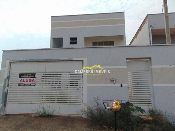 Casa Com 3 Dormitórios Para Alugar, Por R$ 1.300/mês - Jardim Boer I - Americana/sp - Ca2202