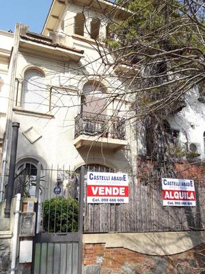 Casa En Venta En Punta Carretas, De Bello Y Reborati