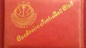 Carteira Time De Futebol Cachoeiro Futebol Club C7.1
