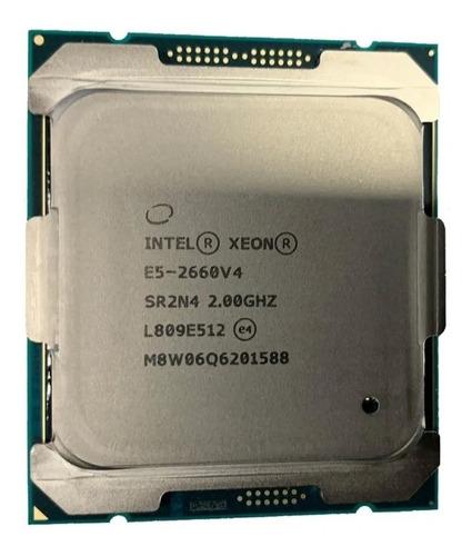 Imagem 1 de 1 de Processador Intel Xeon E5-2660v4 14 Core 3.2ghz 2011-3 Sr2n4
