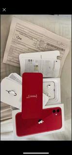 iPhone 11 64gb Vermelho