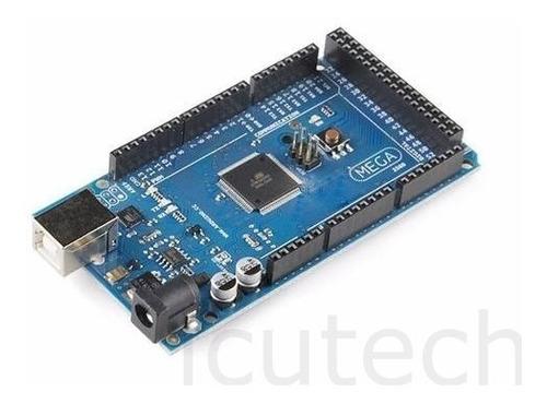 Arduino Mega 2560 R3 16u2 + Cable Usb Domotica Y Robotica
