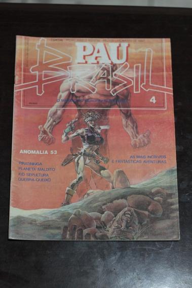 Hq Pau Brasil Nº4 Ed. Vidente Gibi Antigo Raro 1993 Nacional