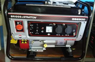 Generador Briggs & Stratton Gs2500 030588