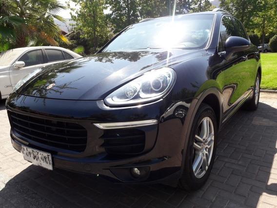 Porsche Cayenne Negro Nueva Versión 2015 Impecable 62.000 Km