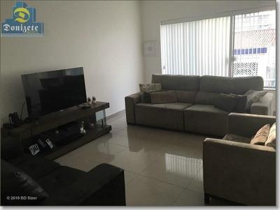 Casa Com 3 Dormitórios À Venda, 159 M² Por R$ 850.000 - Vila Assunção - Santo André/sp - Ca0361