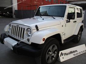 Jeep Wrangler 2016 Sahara 4x4 Toldo Rigido $499,000
