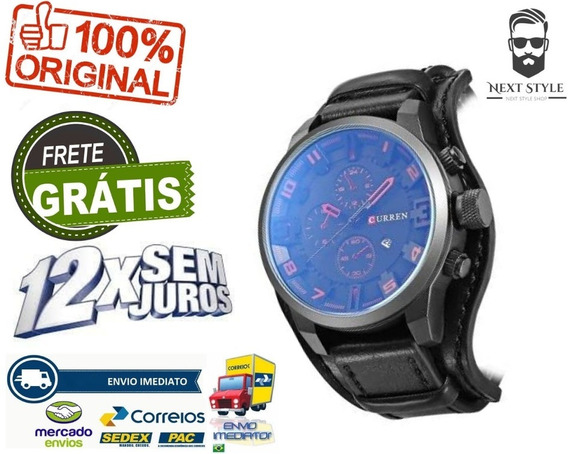Relógio Curren 8225 Original A Prova D´água Pronta Entrega