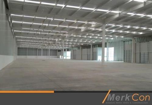 Bodega En Renta 1800 M2 En Fracc. Industrial En Queretaro