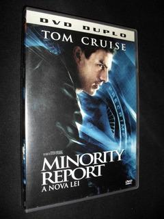 Dvd Duplo Filme Minority Report A Nova Lei