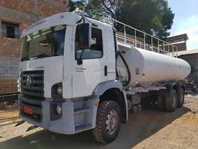 Volkswagem 31-320 6x4 Ano 2011 Tanque Pipa Gascom 20.000 L