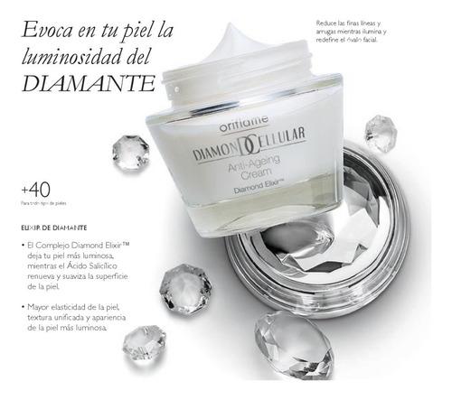 Crema Facial Anti Arrugas Diamond Cellular Oriflame (suecia)