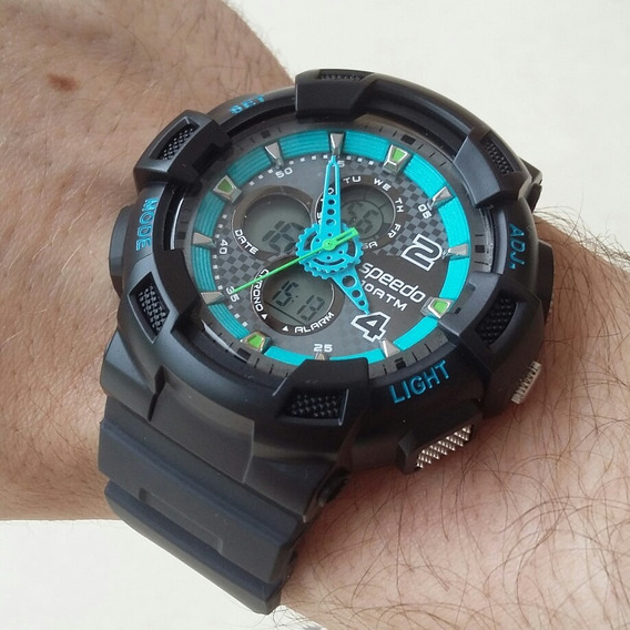 Relógio Speedo Masculino 65075g0evnp8 / Preto