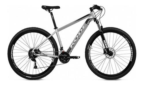 Imagem 1 de 6 de Bicicleta Kode Attack Mtb 27 Velocidades Aro 29 Cinza/preto