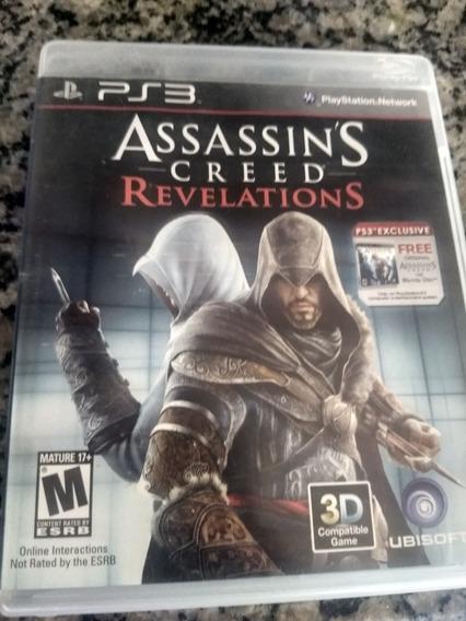 Assassins Creed Revelations Ps3 Mídia Física.