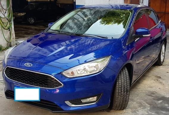 Focus 2.0 Se Azul 14.000 Km Modnov.17 Impecable Estado