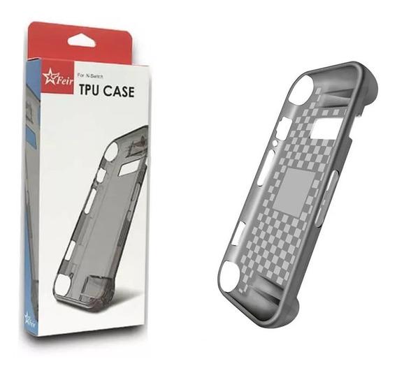 Capa Tpu Case Proteção Ergonômica Silicone Nintendo Switch