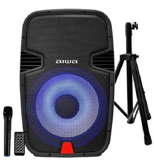Caixa De Som Aiwa Awsp15m Bluetooth / Karaokê