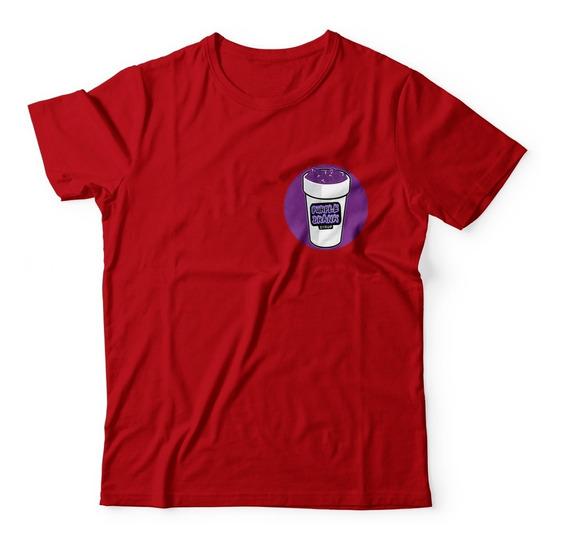 Camisa Camiseta Lean Purple Drank Condeina Trap Copo Roxo