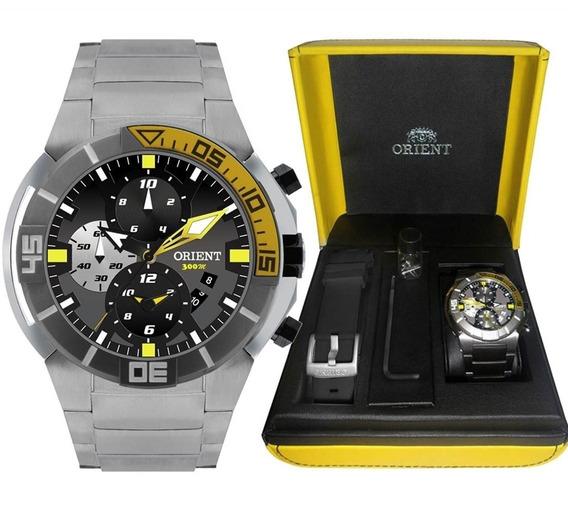 Relógio Orient Masculino Seatech Titânio Mbttc003