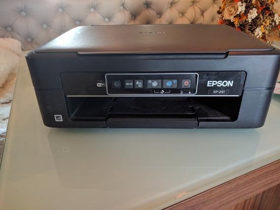 Impressora Epson Xp-241 + Desbloqueio Para Bulk