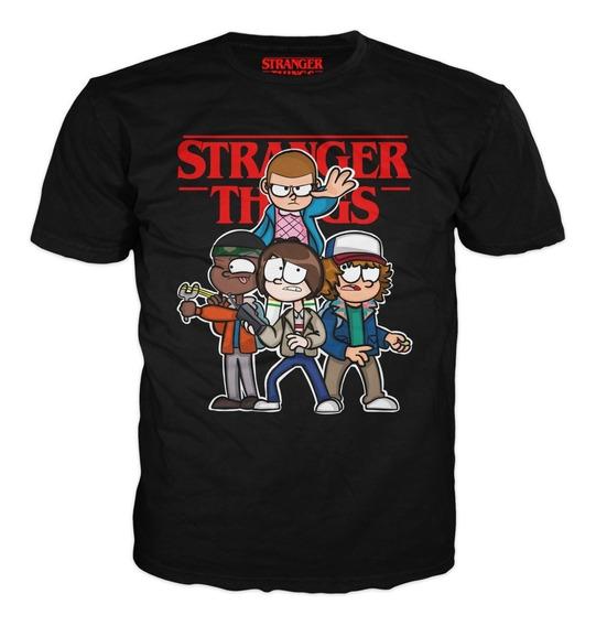 Stranger Things Cute Playera, Personajes De La Serie Tallas