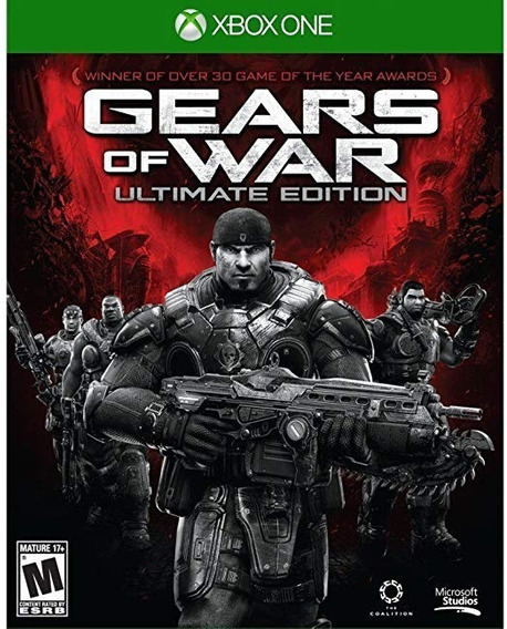 Gears Of War Ultimate Edition Xbox One Midia Física Lacrado