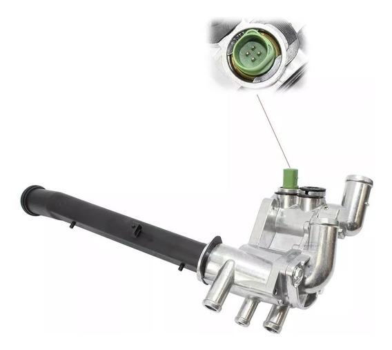 Carcaça Com Válvula Termostática Alumínio Vw Gol Fox- 065k