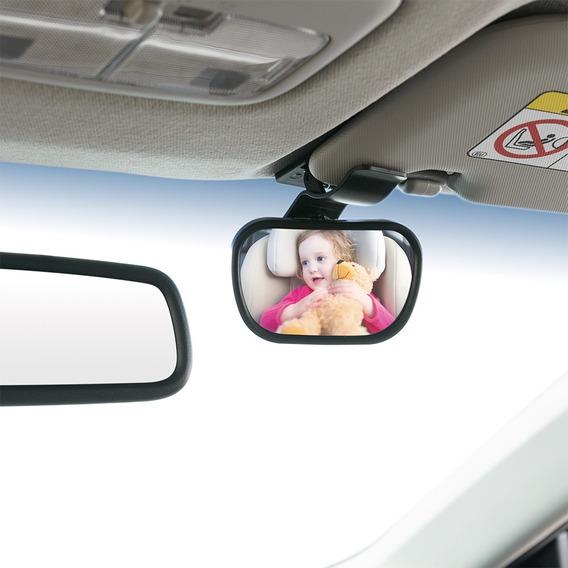 Espelho Retrovisor 2 Em 1 Safe Travel Multikids Baby, Preto