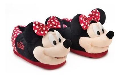 Pantufa 3d Minnie Mouse Walt Disney Ricsen