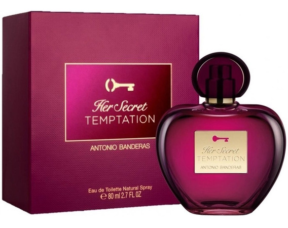 2 Perfume Her Secret Temptation Edt An. Band 50ml - Feminino