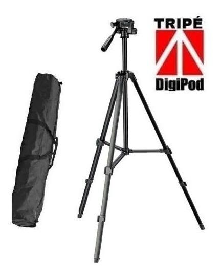 06 Unid Tripe Para Câmera Digital Dslr DigiPod Tr450 1,35mts