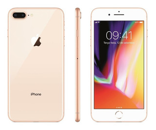 iPhone 8 Plus 64gb Original Vitrine + Brindes - Rj