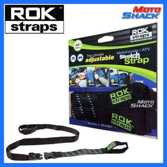 Extensor Tiras Elásticas Rok Straps Ajustável 1500mm - Preto