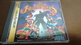Lote De Jogos Originais De Sega Saturn Japonês