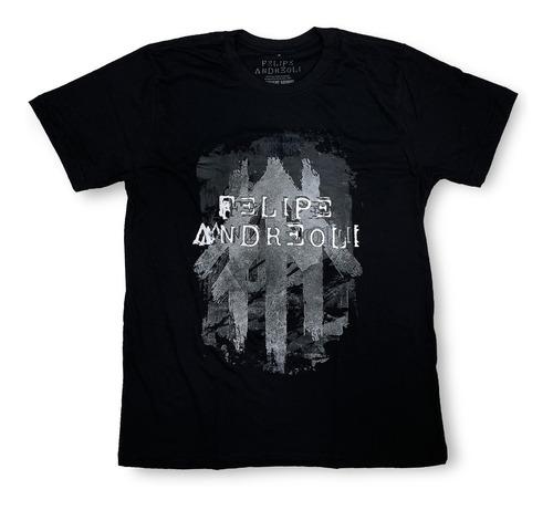 Camiseta Felipe Andreoli Logo P&b [produto Oficial]