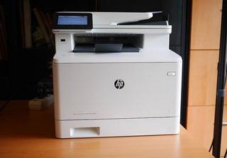 Impresora Multifuncion Laser Color Hp M477fdw