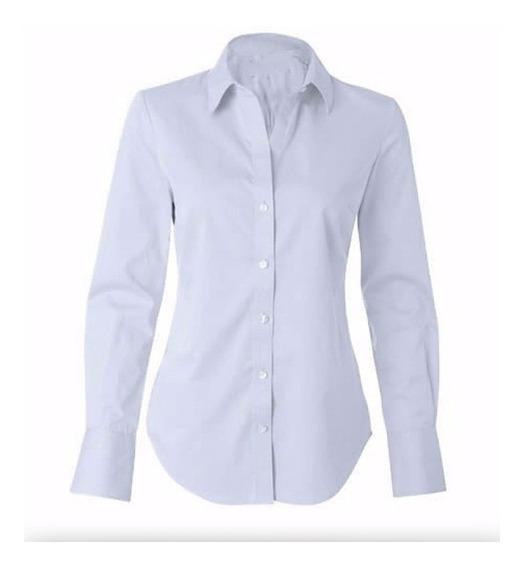 Camisa Feminina Uniforme Social Direto Da Fábrica