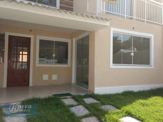 Casa Com 4 Dormitórios À Venda, 130 M² Por R$ 800.000 - Anil - Rio De Janeiro/rj - Ca0867