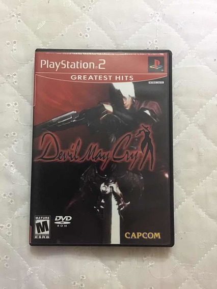 Game - Devil May Cry - Ps2