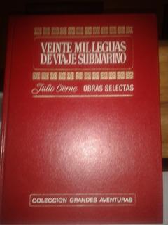 Libro Julio Verne Veinte Mil Leguas De Viaje Submarino Comic