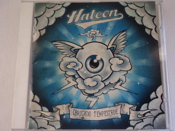 Cd-hateen:obrigado Tempestade:punk Rock:hardcore Melódico