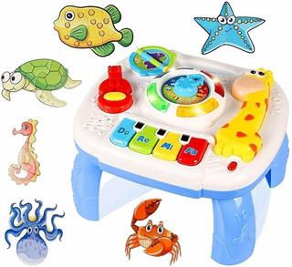 Bonus Puzzles Juguete Porttil Para Bebs Mesa De Apre...