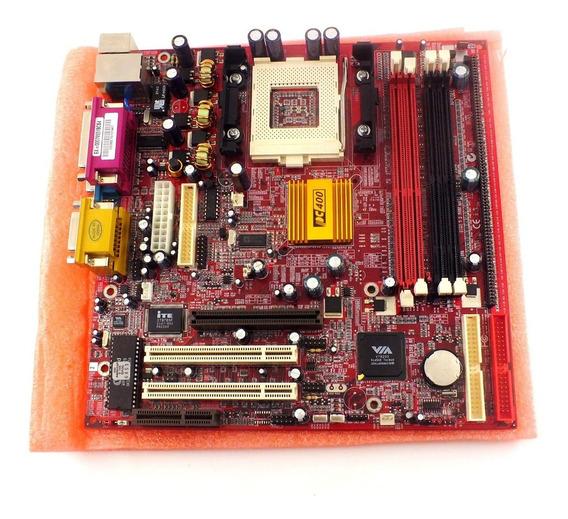 Acessório Eletrônico Placa Mãe Para Pc Chips Modelo M927 Pc 400 Novo Porem Sem Embalagem Fotos Reais A4698